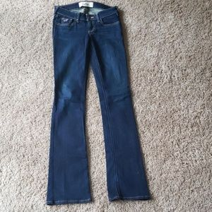 Hollister flare jeans dark wash